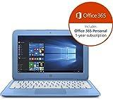 """HP Stream 14-ax050sa 14"""" Laptop - Blue"""