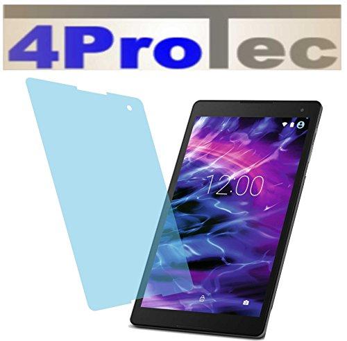 4ProTec 2X Crystal Clear klar Schutzfolie für Medion Lifetab P10506 P10505 Premium Bildschirmschutzfolie Displayschutzfolie Schutzhülle Bildschirmschutz Bildschirmfolie Folie