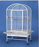 New Large Dome-Top Parrot Bird Wrought Iron Cage 28x20x60H by Mcage