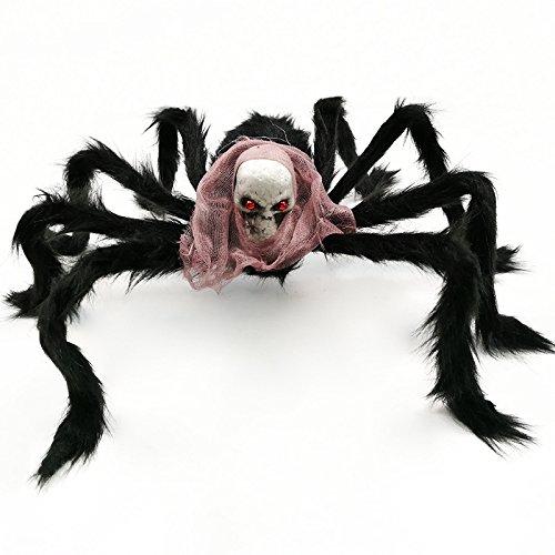 Ungfu Mall Halloween Party Dekoration Skelett ghosthead Spider Horrid Scare Szene Toys
