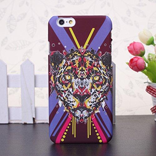iPhone 5S Fall, Fashion Tier-Muster Design mit Kunstlicht Kunststoff HardCase Schutzhülle FÜR iPhone 5s (1), 8, IPhone 6S Plus 6