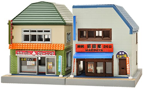 TomyTEC 256250-Casa de Juego con Dos Edificios