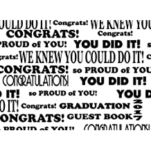 Graduation Guest Book 2017: Perfect Sign In Book or Autograph Book: 100+ Ruled & Blank Pages for Messages & Scrapbook: Volume 6 (Graduation Guest Books)