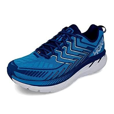 Clifton 4 Wide Running Shoe Diva Blue