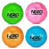 Soft Ball Softball Nero Springball Spring Ball Flummi Eckiger Ball Reaktion sortiert 9 cm