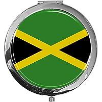"metALUm - Extragroße Pillendose in runder Form""Flagge Jamaika"" preisvergleich bei billige-tabletten.eu"