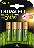 Duracell 1300mAh AA Size Rechargeable Batteries--Pack of 4