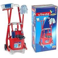 KLEIN 647086 - Vileda Carrito Limpieza Completo 56X24