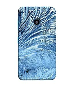 PrintVisa Designer Back Case Cover for Nokia Lumia 530 :: Nokia Lumia 530 RM 1017 :: Nokia Lumia 530 Dual SIM :: Microsoft Lumia 530 Dual (Texture Illustration Theme White Backcase Pouch)