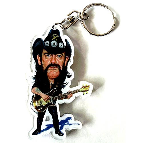 Portachiavi in acrilico caricature Music Legends - Lemmy Kilmister - Motörhead