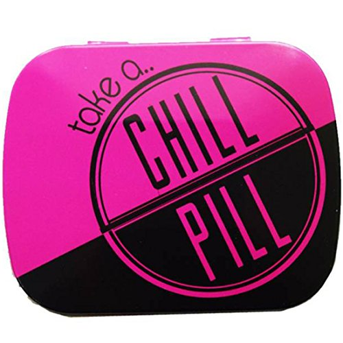 Random in Tandem Pink Chill Pill tin  available at amazon for Rs.111