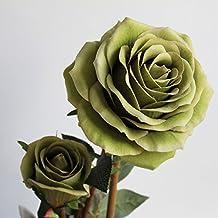 Flores Artificiales La Habitación Rose Oficina Decoración De Flores Flores Flores Solo,Verde
