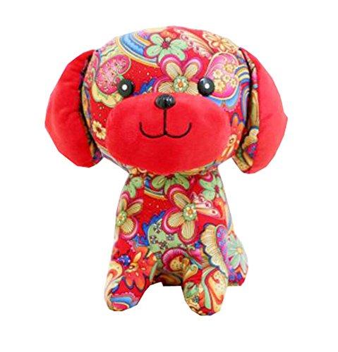 20cm hoch 2018 Chinesisches Neujahr Plüsch Puppe Spielzeug Geschenk (Hund) für Kinder oder Kind, a