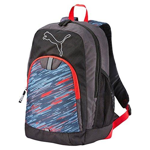 PUMA Echo mochila Backpack Gris Asphalt/Graphic Talla:32 x 22 x 45 cm, 27 Liter