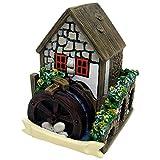 Something Different Weißes Feen Haus mit Wasserrad (Einheitsgröße) (Bunt)