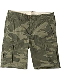 Hollister Homme - Classic Fit Cargo Shorts Bermuda Short - Manche