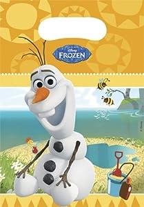 Procos S.A. - Cubertería para Fiestas Olaf, Frozen Disney (71997)