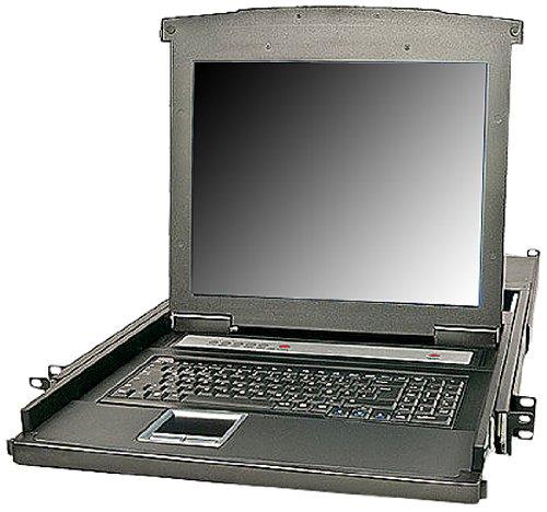 'Lindy 21731Schublade für Rack 19mit Monitor, Tastatur und Touchpad für Server und KVM Switch Rack-server-monitor