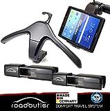 Road Butler Bajo Set: Multi travel–Juego de 2x base soporte Flex, 1x Tablet soporte y 1x perchas