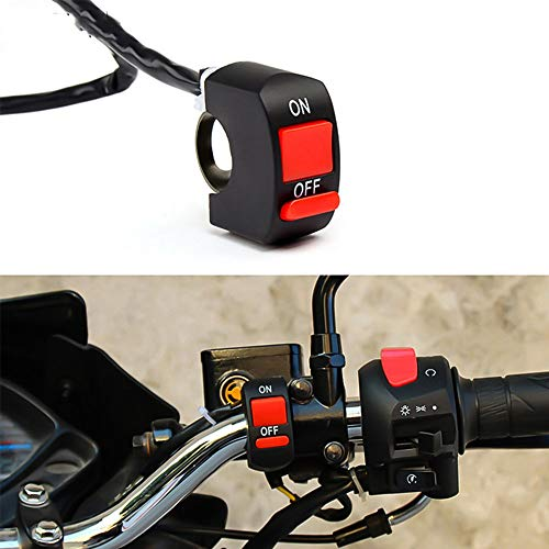 Hadeyicar Connettore Pulsante Moto Interruttore Luce LED Connettore Connettore Push per KTM Duke 125 200 250 390 690 EXC EXCF SX SXF XC XCF