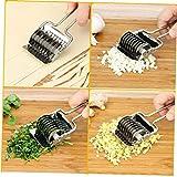 1pc in Acciaio Inossidabile Cipolla Shredder Taglierina Aglio di Coriandolo Verdura Shred Cooking Tools Cucina con Pc