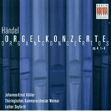 Orgelkonzerte Op.4,1-4