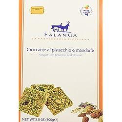 Falanga Croccante con Mandorle di Sicilia e Pistacchio - 100 gr - [confezione da 7]