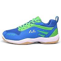 Mengxx Men Badminton Shoes Lightweight Athletic Footwear Breathable Tennis Indoor Sports Sneakers