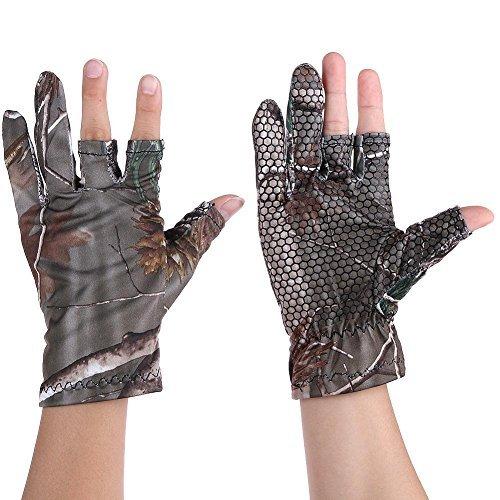 broadroot Winter Unisex Outdoor Angeln Full/2Half Finger rutschfeste Gel Sport-Handschuhe