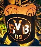 BVB Borussia Dortmund Windlicht Fanartikel Feuerkorb Laterne Metall Gartendeko