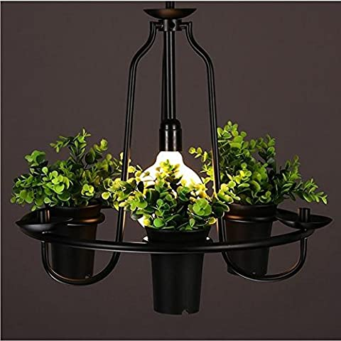 LLYY-Piantare fiori e lampadari decorativi in ferro