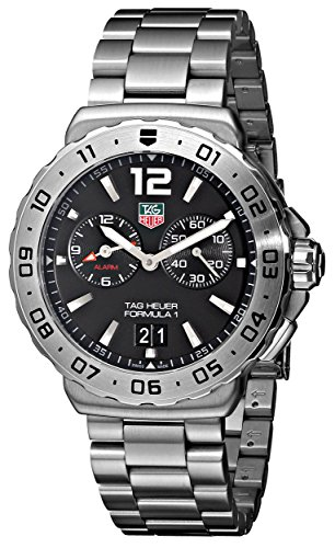 Tag Heuer Men's Analog Quartz Watch with Stainless Steel Strap WAU111A.BA0858