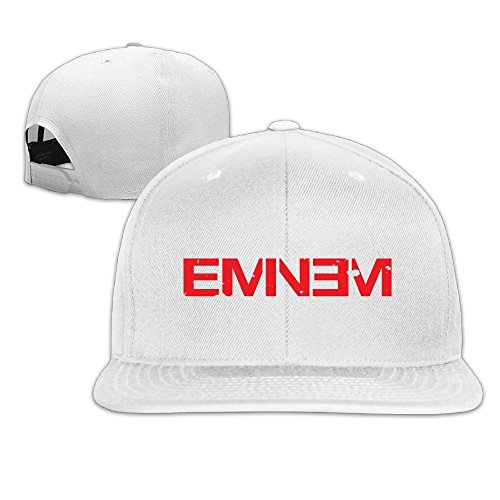 Hittings Eminem Double M M/&M Rapper Record Producer Songwriter Actor Flat Bill Snapback Adjustable Sports Hats Black White