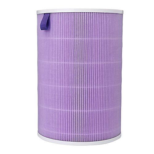 Lai-LYQ HEPA Aktivkohle-Staubfilter Ersatzteil für Xiaomi Mi Luftreiniger, Mehrlagig, violett, Purple (Luftreiniger Hepa-carbon-ionic)