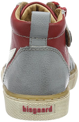 Bisgaard - Schnürschuhe, Scarpe da ginnastica Unisex – Bambini Rot (901 Red)