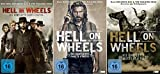 Hell on Wheels Staffel 1-3 (9 DVDs)