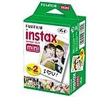 FUJIFILM Pellicola Instax Mini bipack - 2 x 10 per 7S, 25 e Mini 8