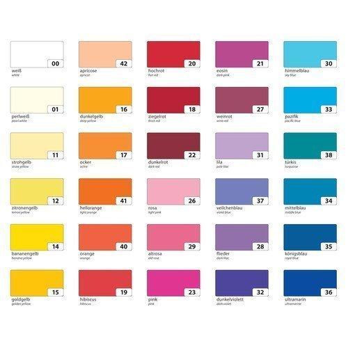 Folia Tonpapier 130g/m², DIN A3, 10 Farben, mehrfarbig, 50-teilig (1 Set)