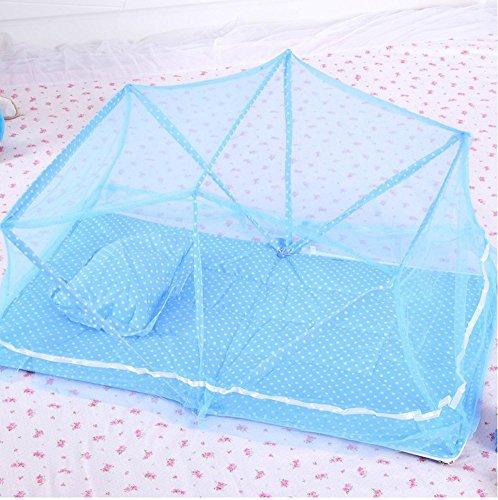 Preisvergleich Produktbild MYENG Kindernetze ohne Installation mit Halterung faltbare Baby Moskitonetze Jurte Boden Kinderbett Moskitonetz Deckung