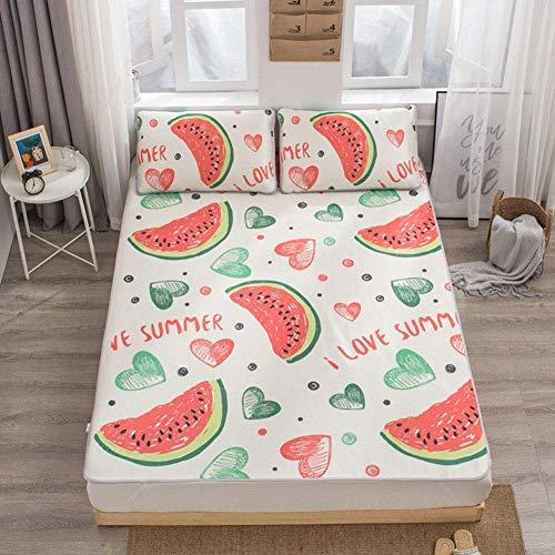 Faltbare Sommerkühlmatte Fürs Bett, Isomatte Cool Matratze Topper, Krabbelmatte, Glatte, Klimatisierte Matte (Color : C, Size : Queen)