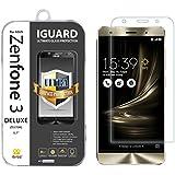"""iBroz® - ASUS Zenfone 3 DELUXE 5,7"""" (ZS570KL) - Protection Ecran en Verre Trempé iGUARD Premium Anti Chocs et Casse, Anti Empreintes Digitales et Gras, Bords Arrondis, Dureté Max 9H, Haute Définition 99%, pour Zenfone 3 DELUXE 5,7"""" (ZS570KL) (Transparent)"""