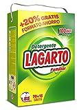 Lagarto Detergente en Polvo para Lavadora, 70+15 Lavados. 5525 gr.