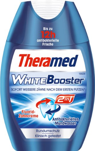 Theramed 2in1 2in1 WhiteBooster , 3er Pack (3 x 75 ml)