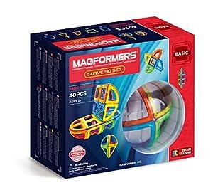 Magformers 701011 - Juguete magnético Curvo (40 Piezas)