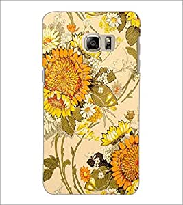 PrintDhaba Floral Design D-1441 Back Case Cover for SAMSUNG GALAXY NOTE 5 (Multi-Coloured)