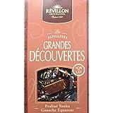 Revillon chocolatier Pochette de Papillotes Grandes Découvertes Noir/Lait 240 g -