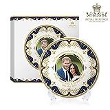 Royal Heritage s.k.h Harry und Megan markle Hochzeit GEDENKMÜNZE, Feines Porzellan, mehrfarbig, 15x 15x 2cm