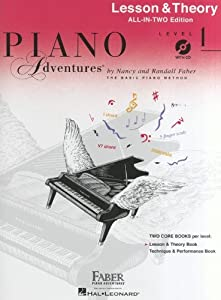 Piano Adventures®: Lesson And Theory Book - Level 1 - Sheet Music, CD