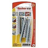 Fischer Spreizdübel SX 12 x 60 SK SB-Karte, 3 x 6-kt-Schraube 8 x 80, 049132