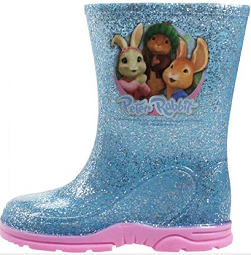 GladRags Girls Peppa Pig Peter Rabbit Wellington Boots Size 4 5 6 7 8 9 10 Infants